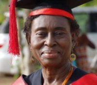 70-YR OLD UCC GRADUATE PROVE'S IT'S NOT LATE TO GET ANOTHER DEGREE