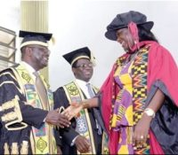1ST GHANAIAN STUDENT TO HOLD PhD IN TWI