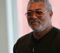 RAWLINGS REGISTERED FOR GHANA CARD DESPITE NDC BOYCOTT